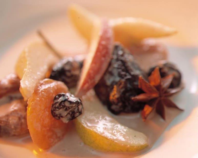 Macédoine de fruits hivernale