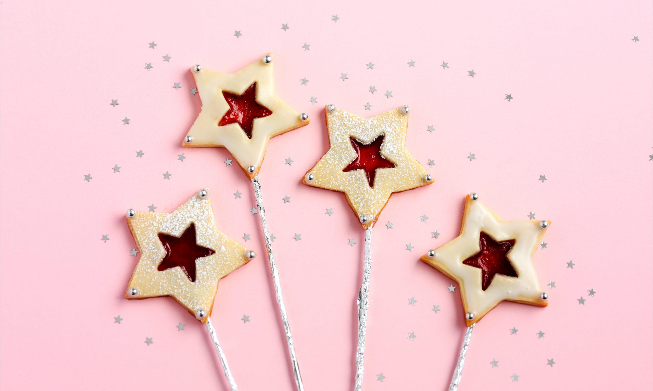 Baguettes magiques en biscuit (anniversaire enfant)