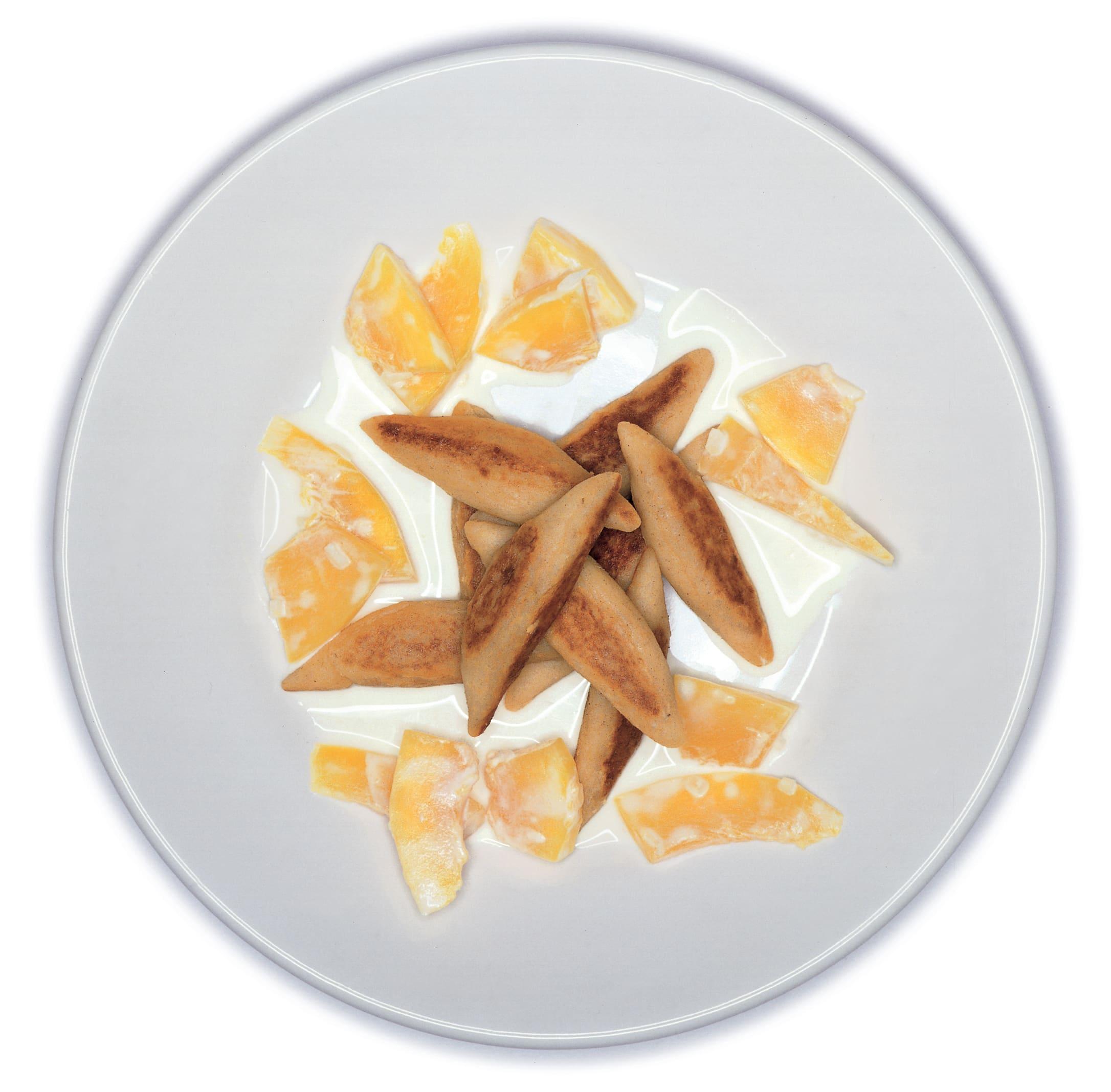 Zimt-Kartoffel-Nudeln mit Kürbisgemüse