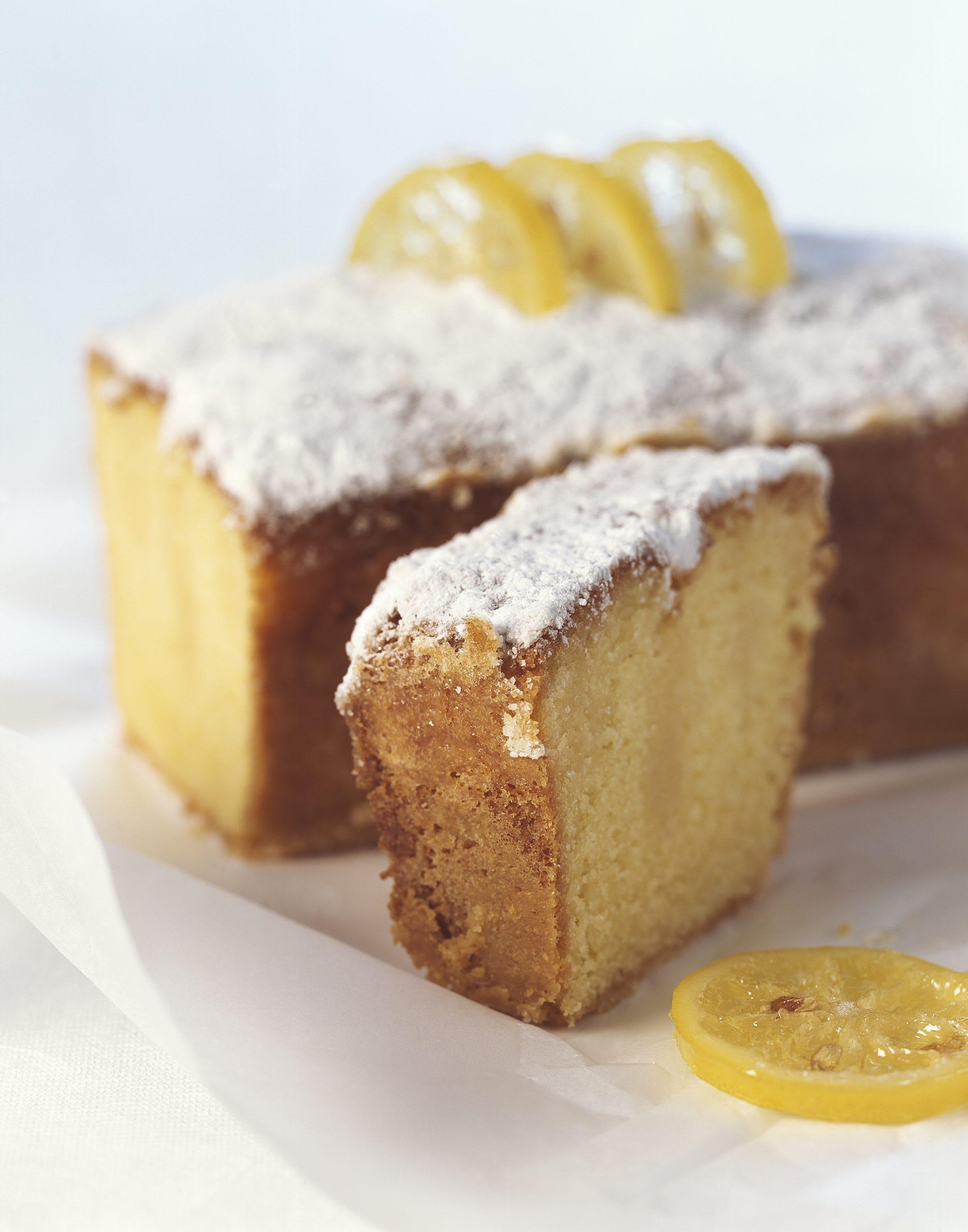 Zitronen-Krusten-Cake