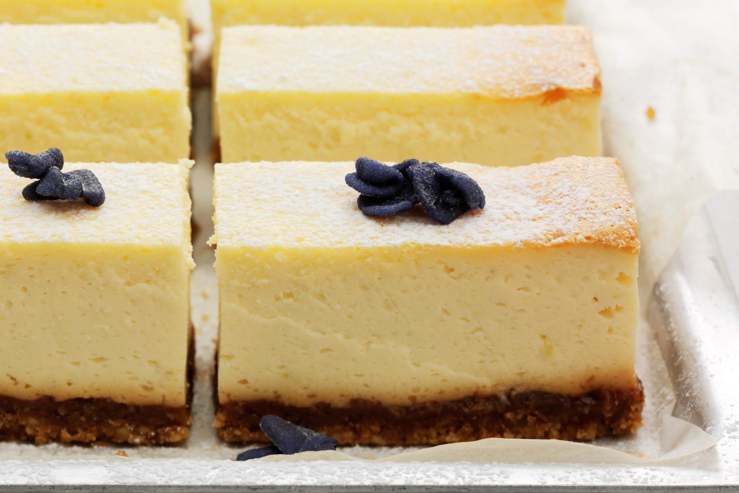 Gâteau au séré et au citron