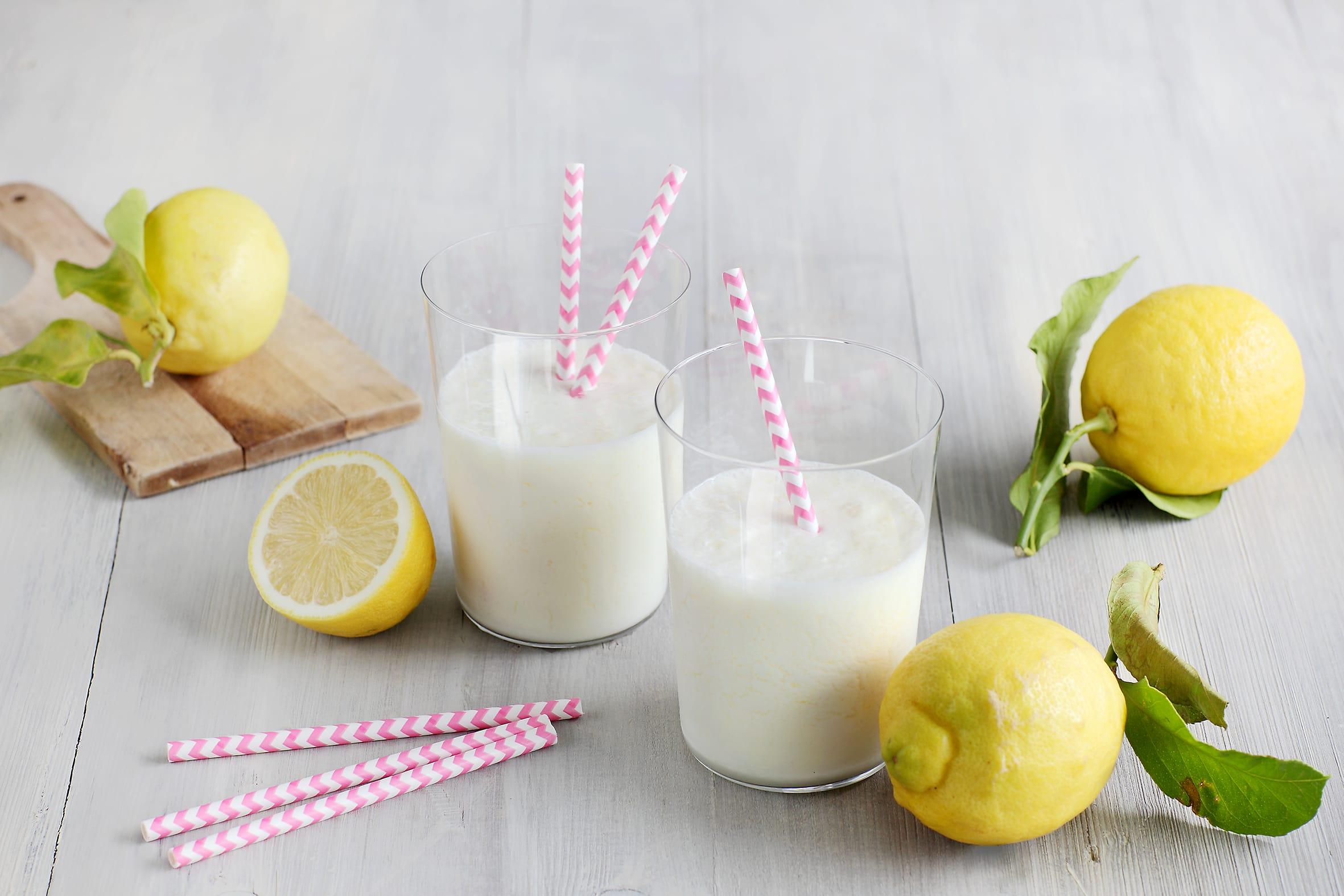 Zitronenfrappé