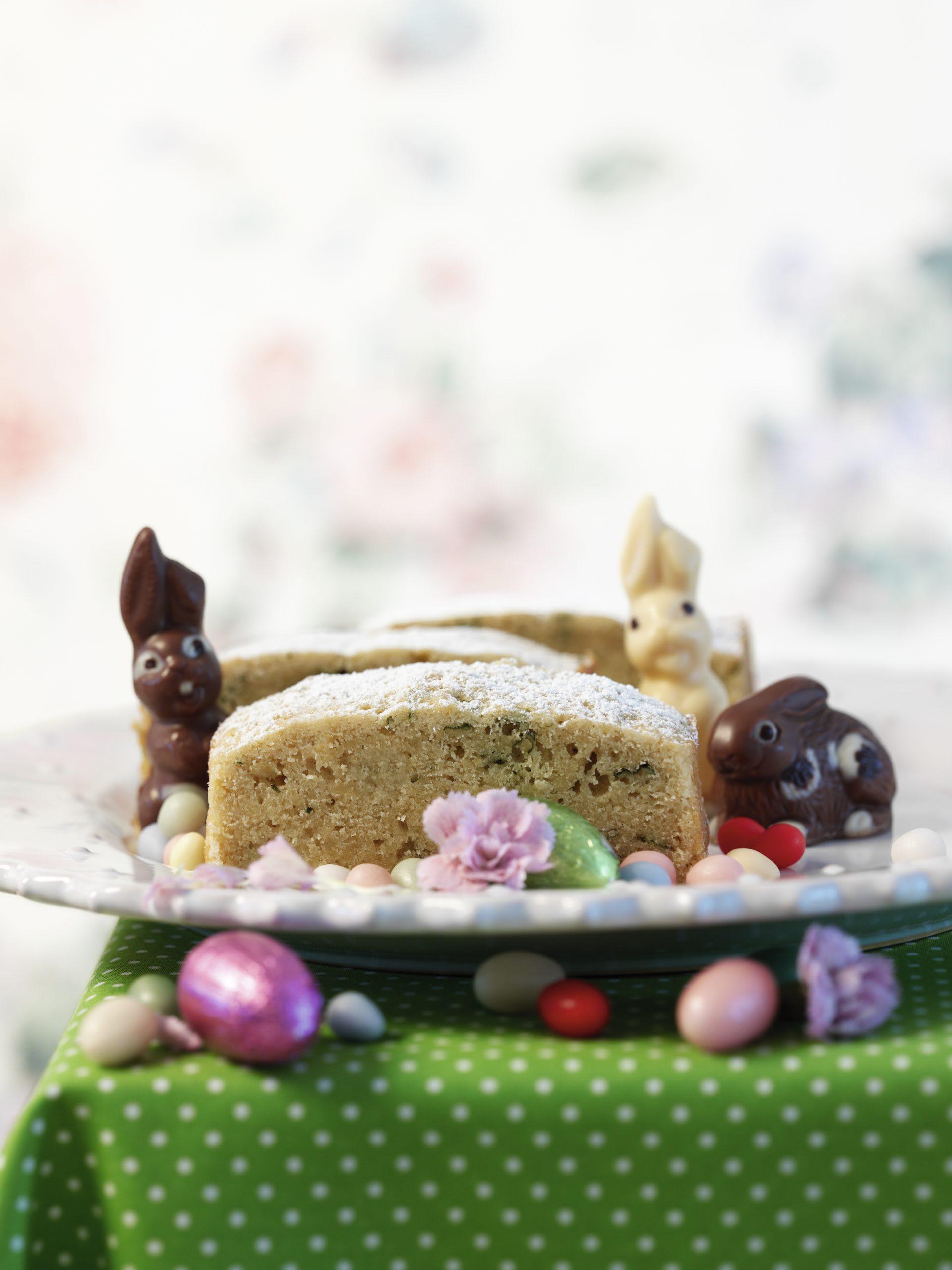 Mini-cakes à la mélisse