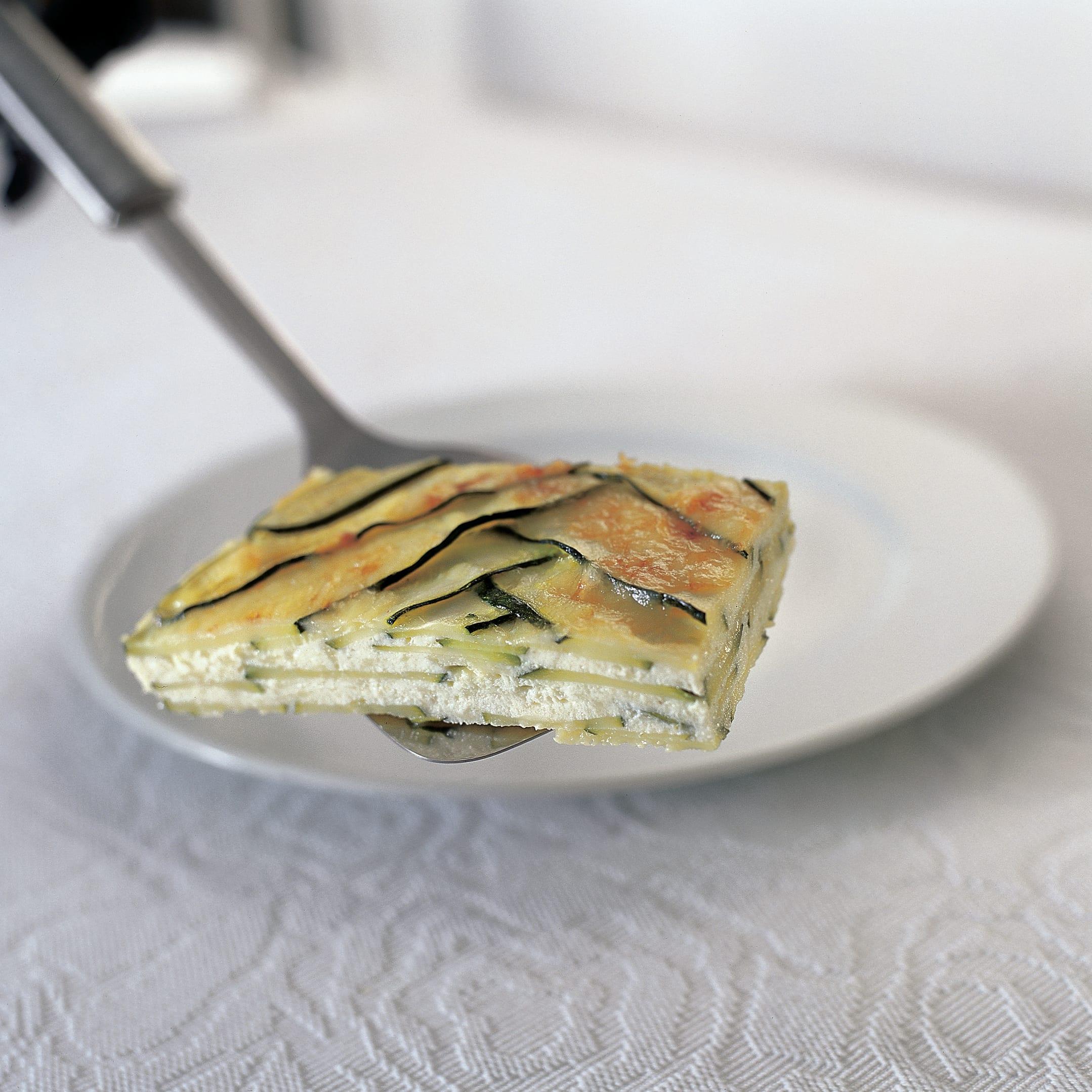 Lasagnes de courgette au fromage