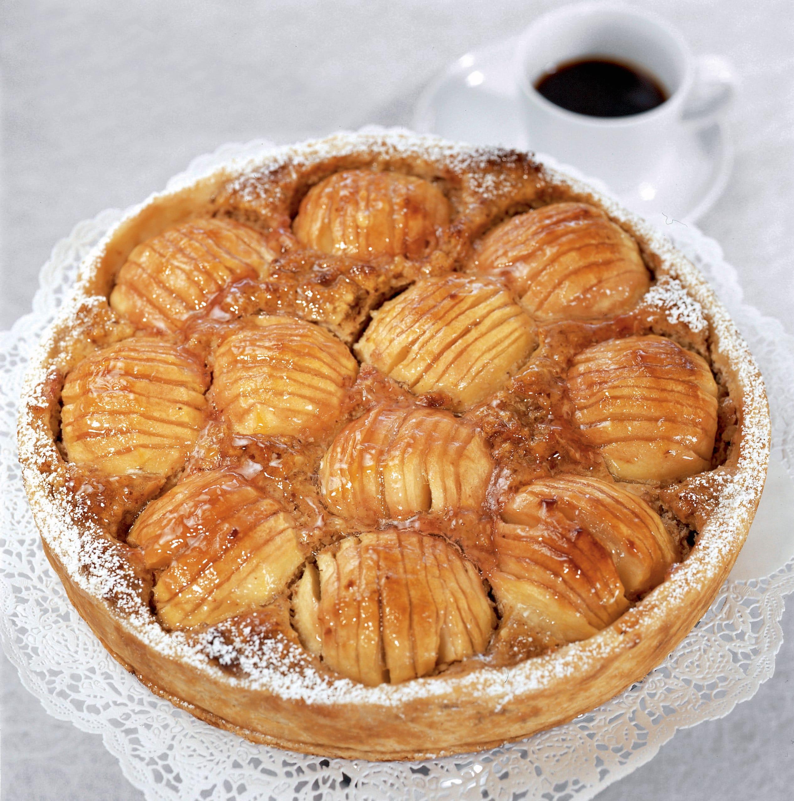 Gâteau aux pommes à la zurichoise