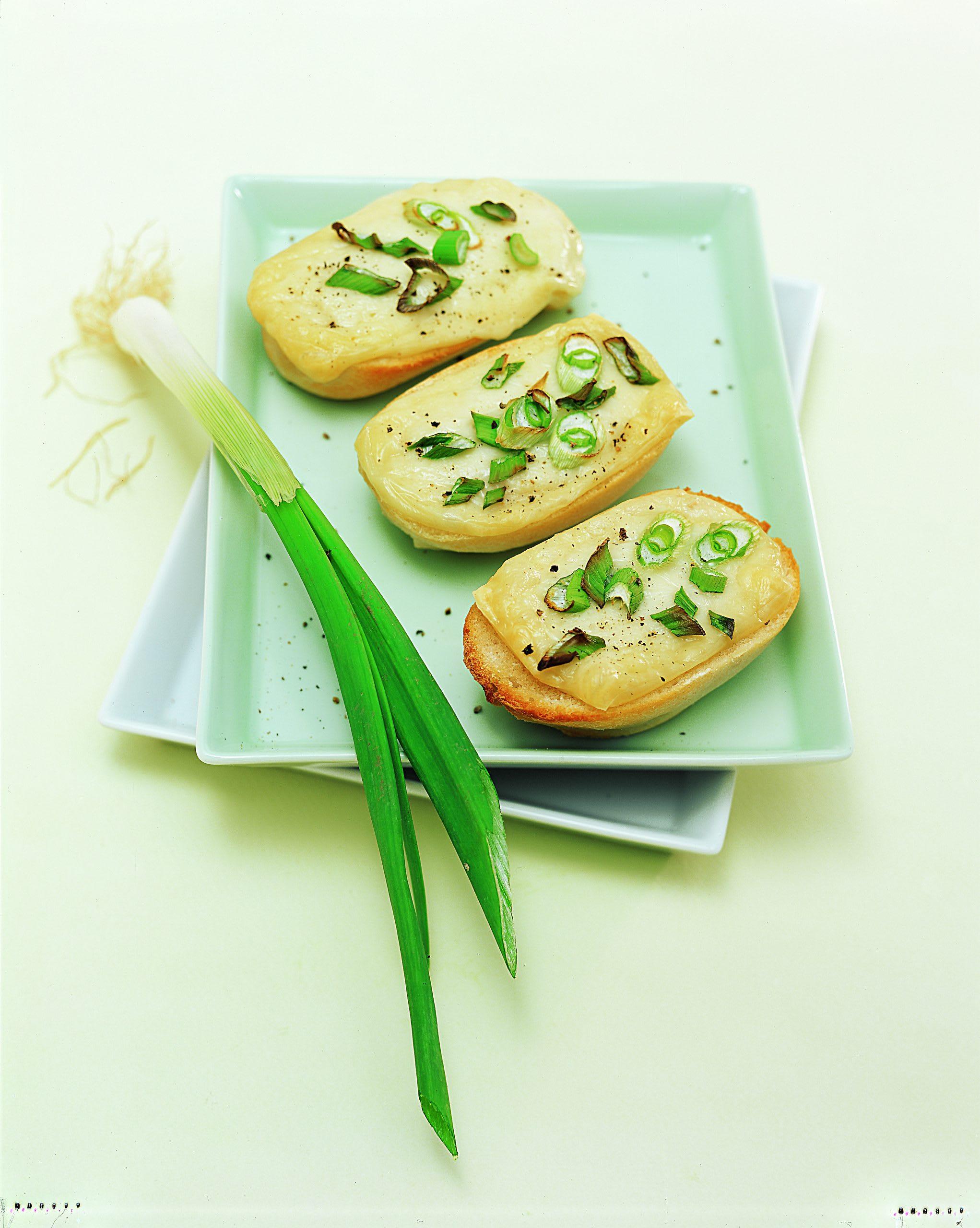 Zwiebel-Ziegenkäse-Toast