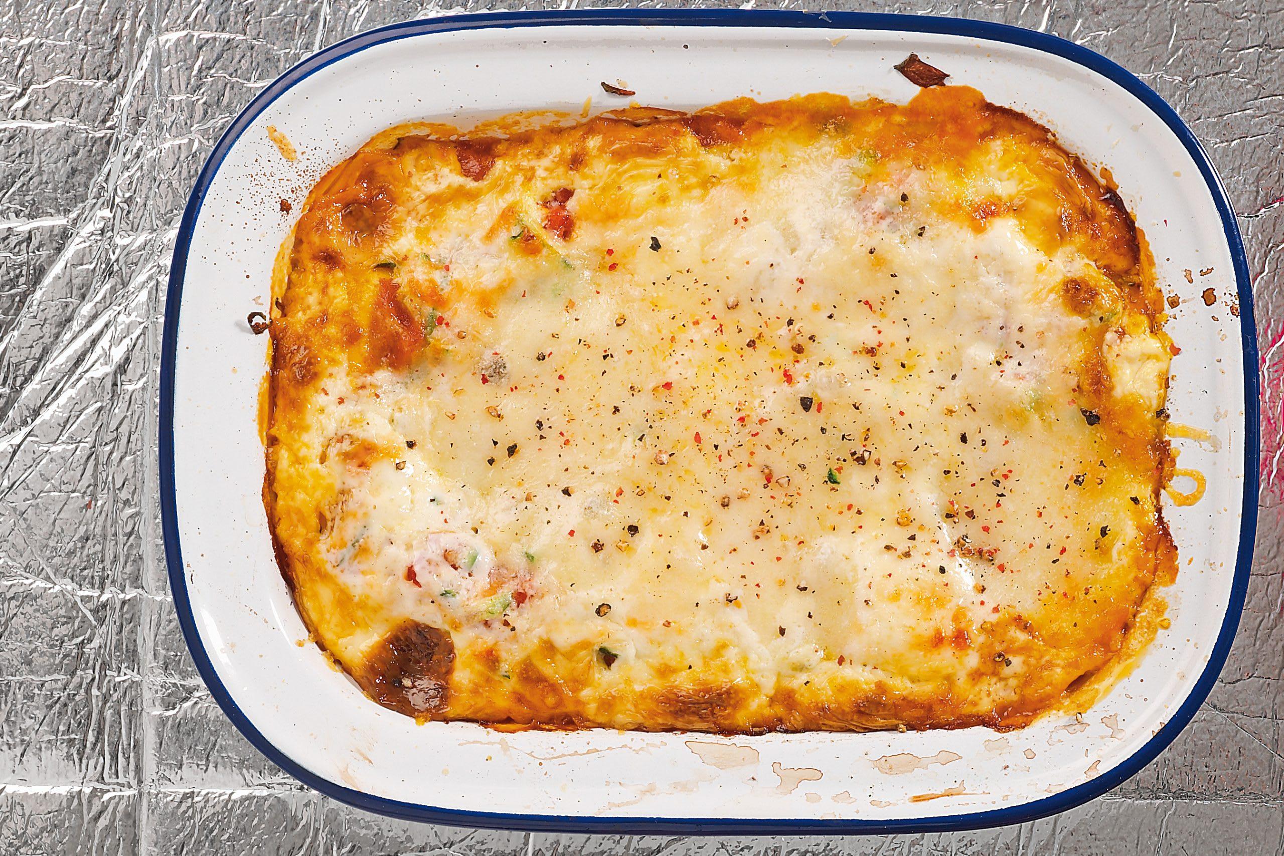 Lasagne aux légumes et au mascarpone