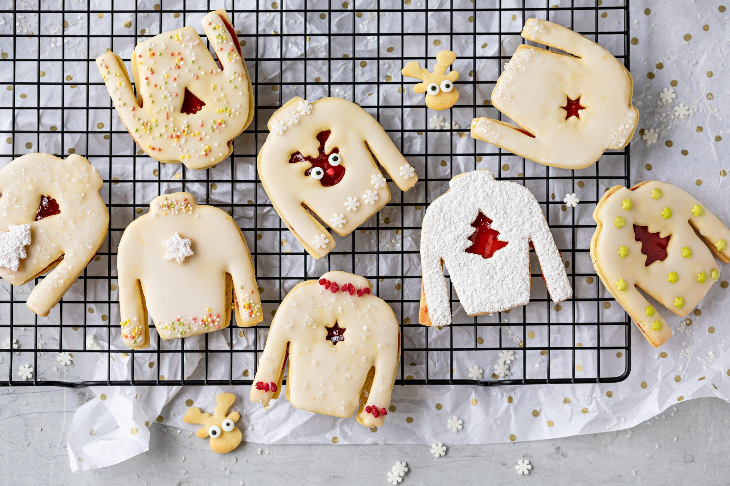 Biscuits pulls de Noël