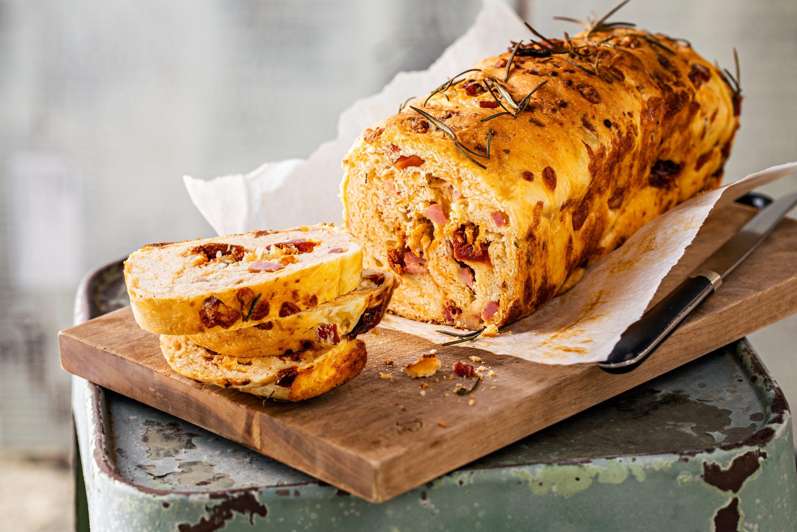 Cake au jambon et au fromage