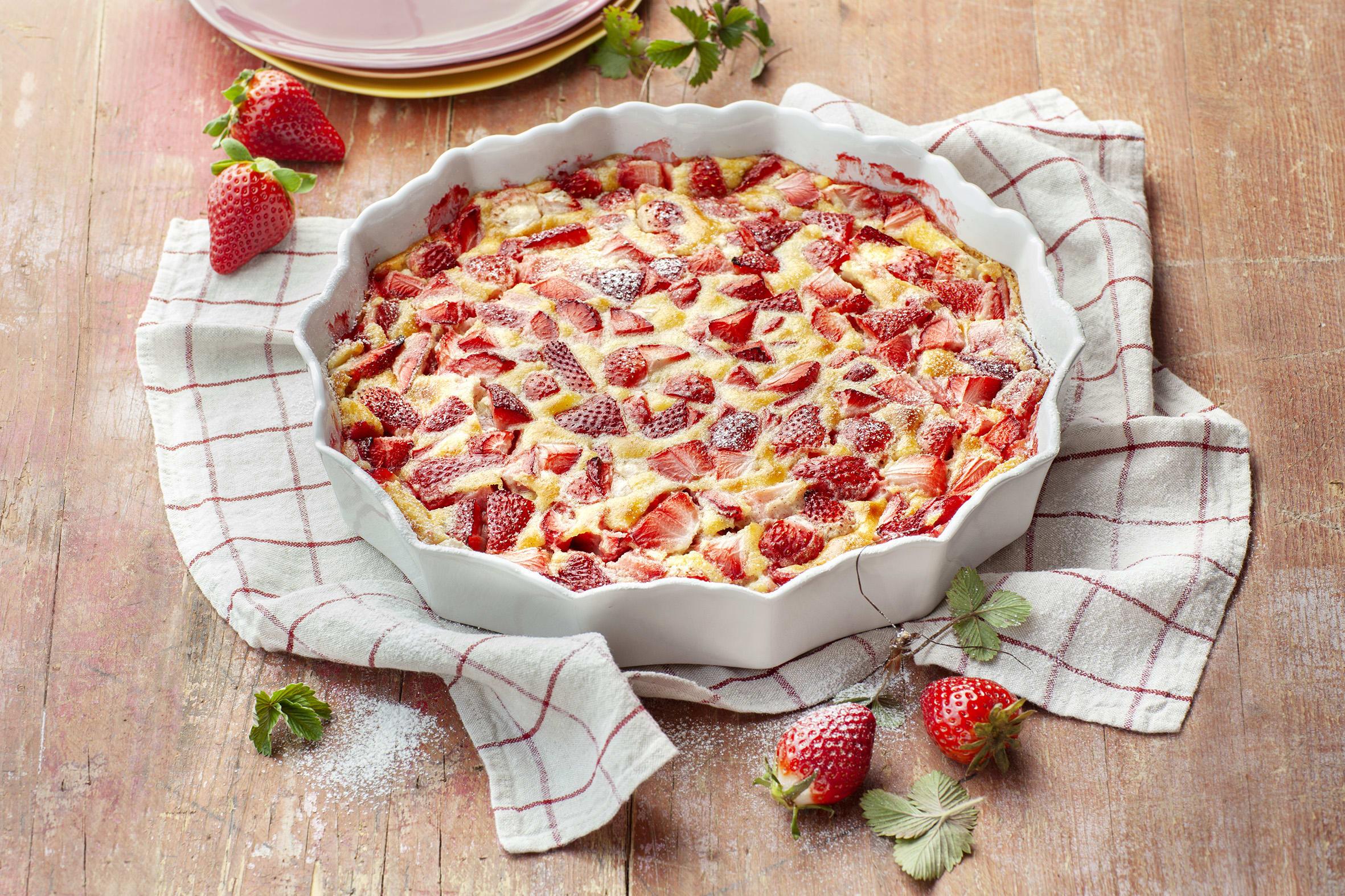 Erdbeer-Clafoutis