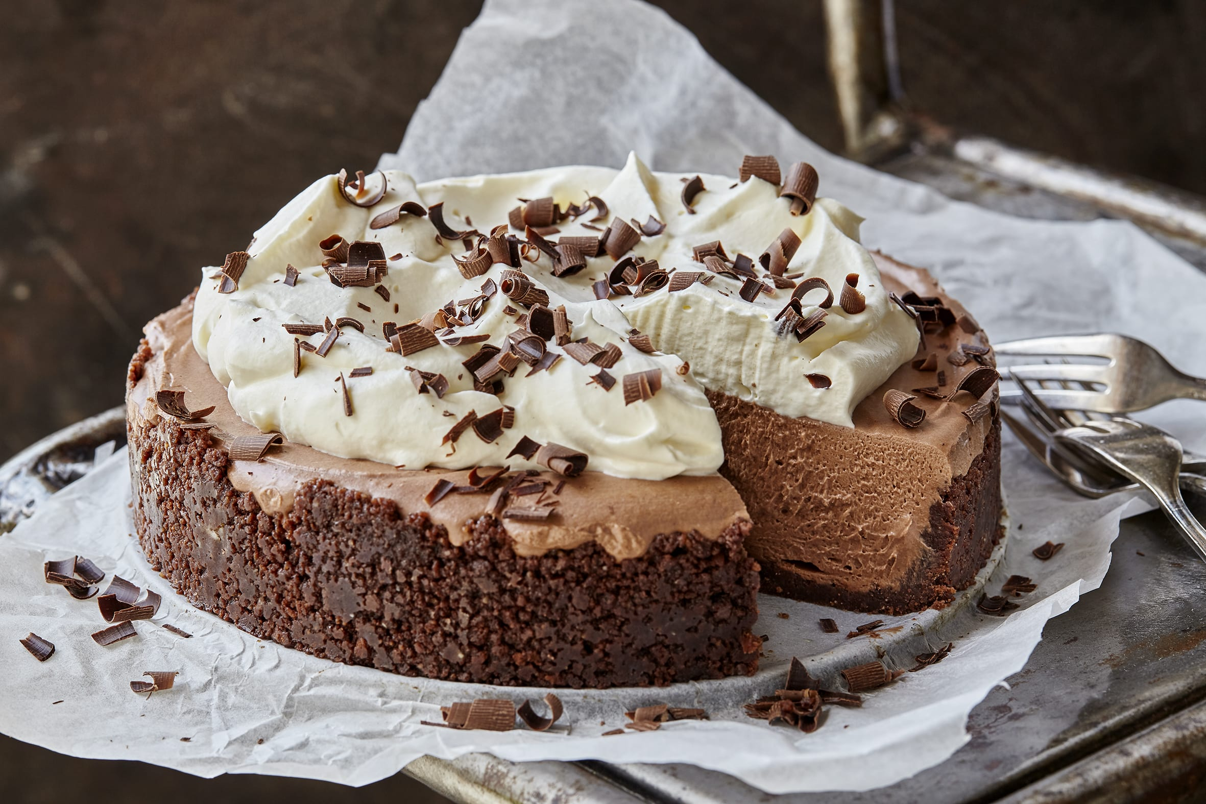 Cheesecake au chocolat (sans cuisson)