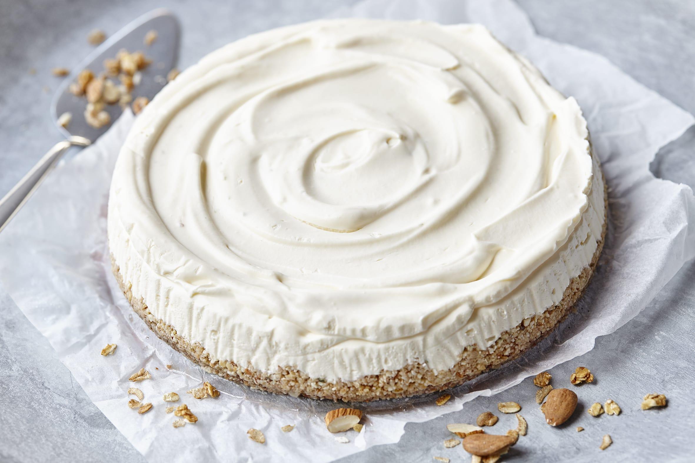 Gâteau au séré à l'agar-agar (sans cuisson)