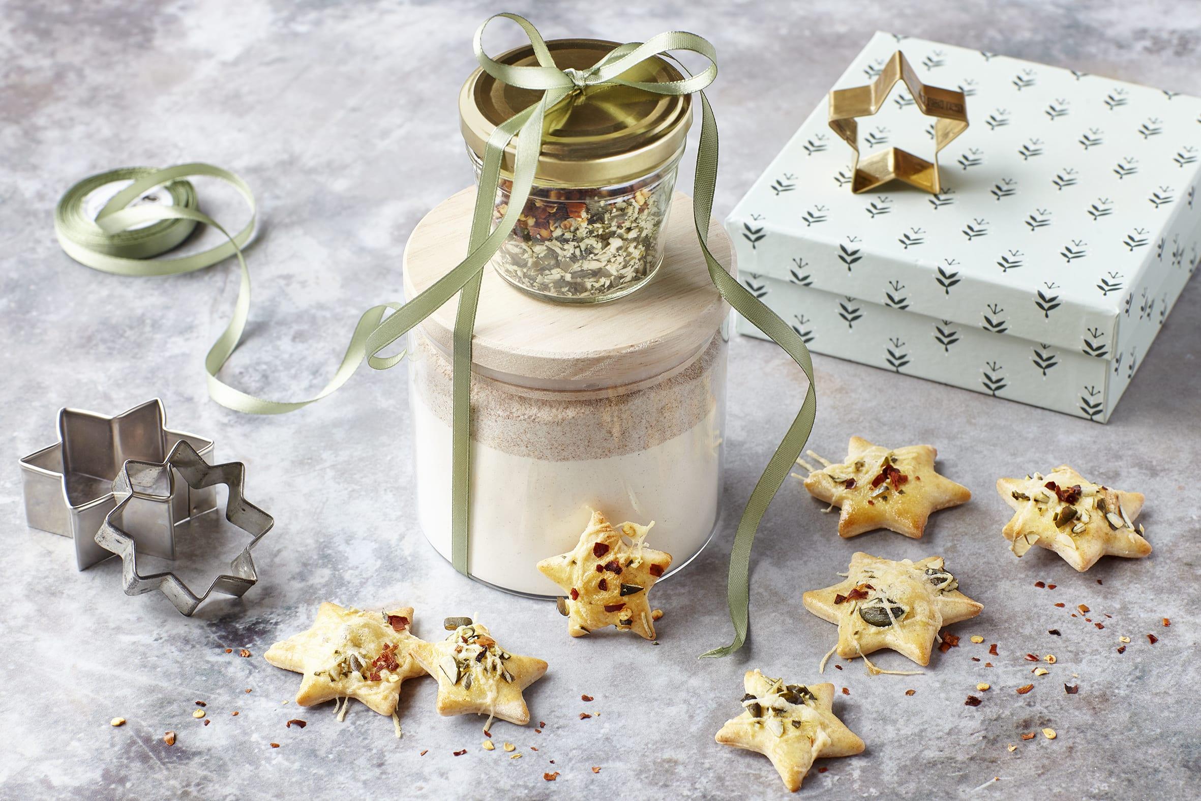Crackers au fromage (cadeau en bocal)