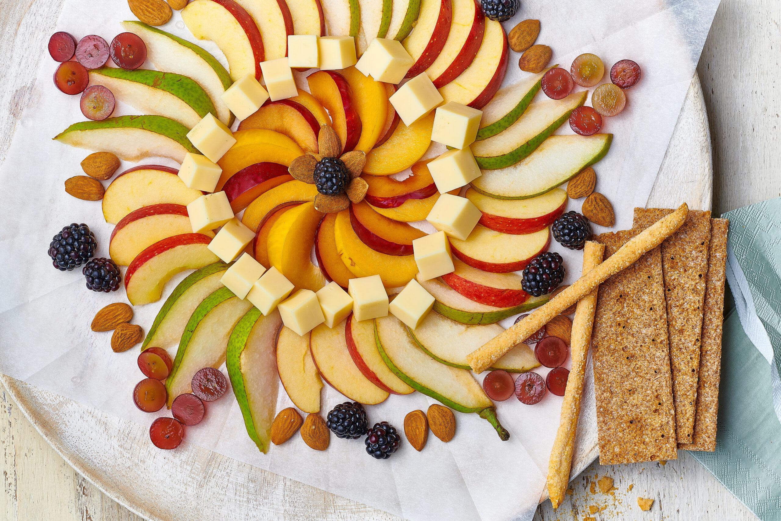 Mandala de fruits