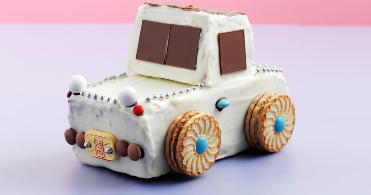 Kuchen backen anleitung auto Snickers