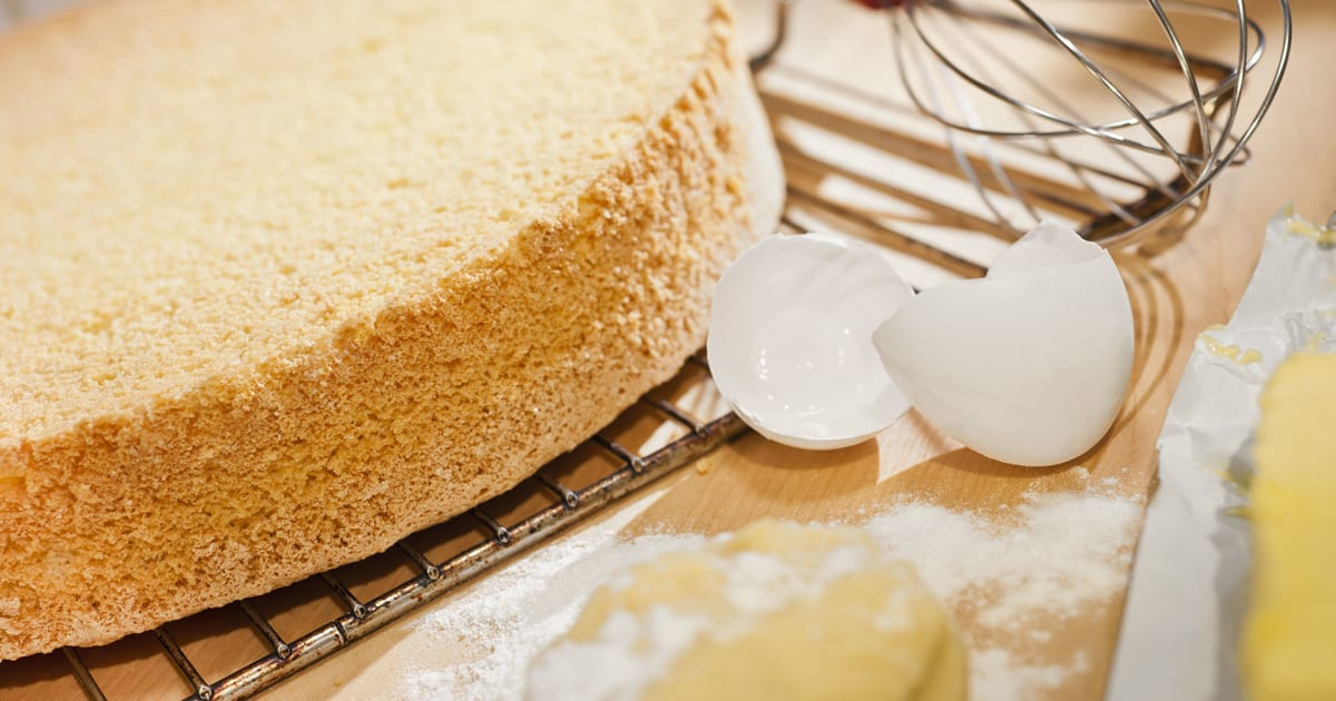 warum fällt der kuchen beim backen zusammen