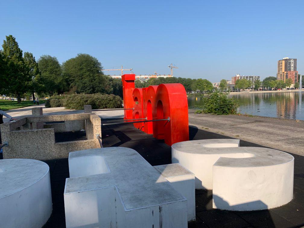 Amsterdam - Parkour Park - Sloterpark