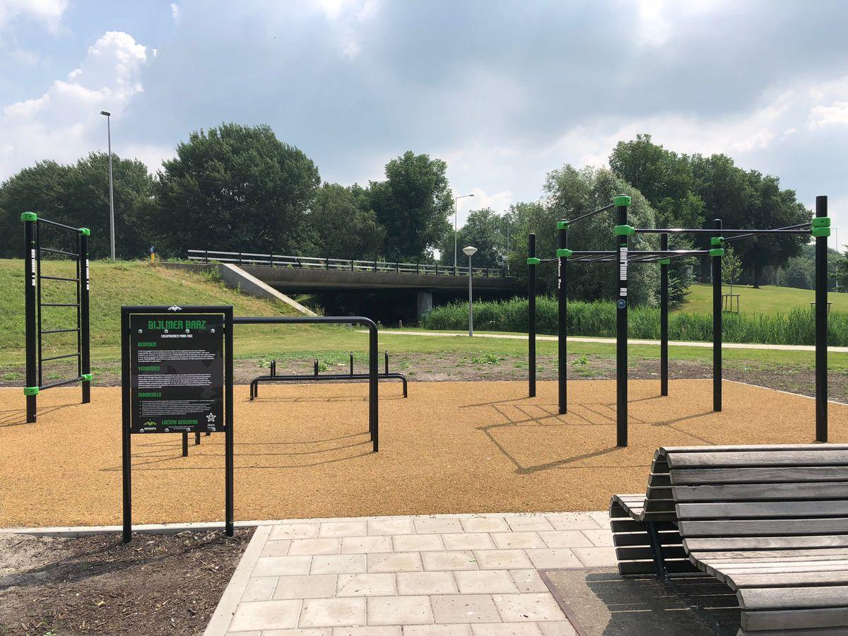 Amsterdam Zuidoost - Calisthenics Park - Bijlmer-Centrum