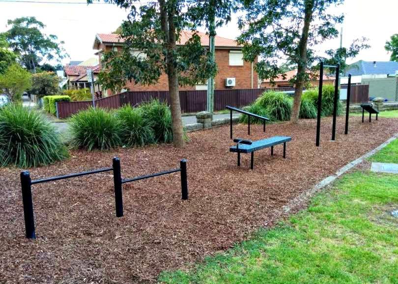Sydney - Outdoor Gym - Jarvie Park