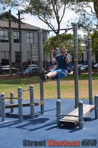 Sydney - Street Workout Park - Wentworth Park