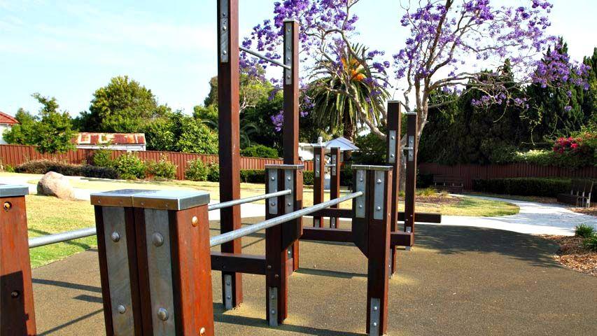 Public gym park - Sydney - Calisthenics workout