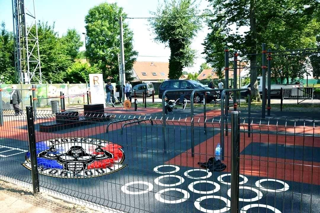 Rue Louis Aragon - Raismes - Nord - Street Workout Park