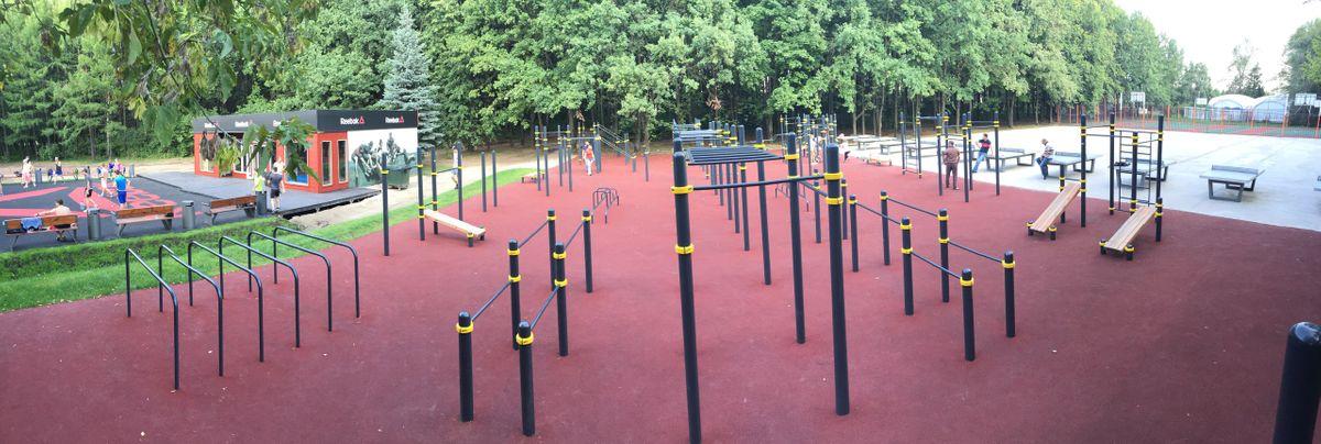 Moscow - Fitness Park - Площадь Победы