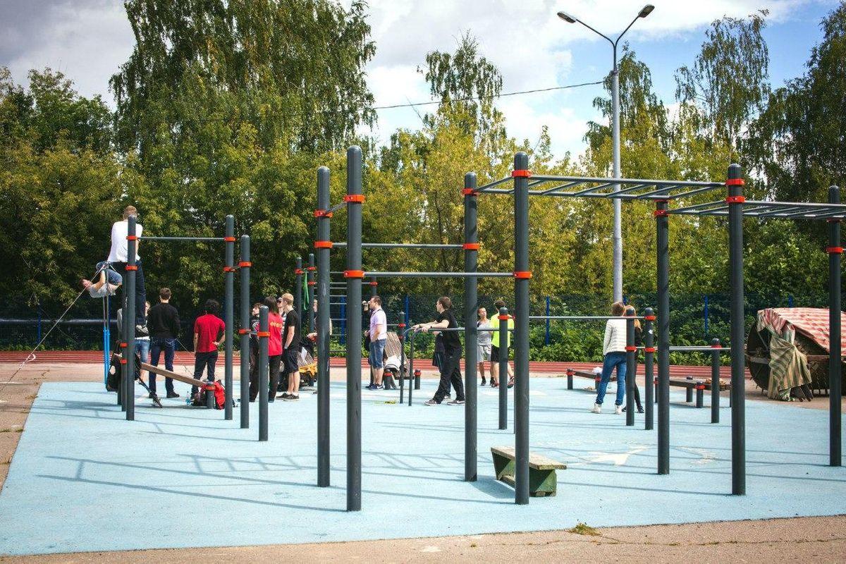 Dolgoprudny - Calisthenics Park - Улица Менделеева