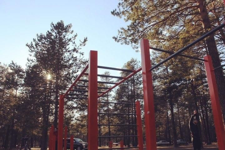 Chita - Street Workout Park - Лесопарковая Зона Северный