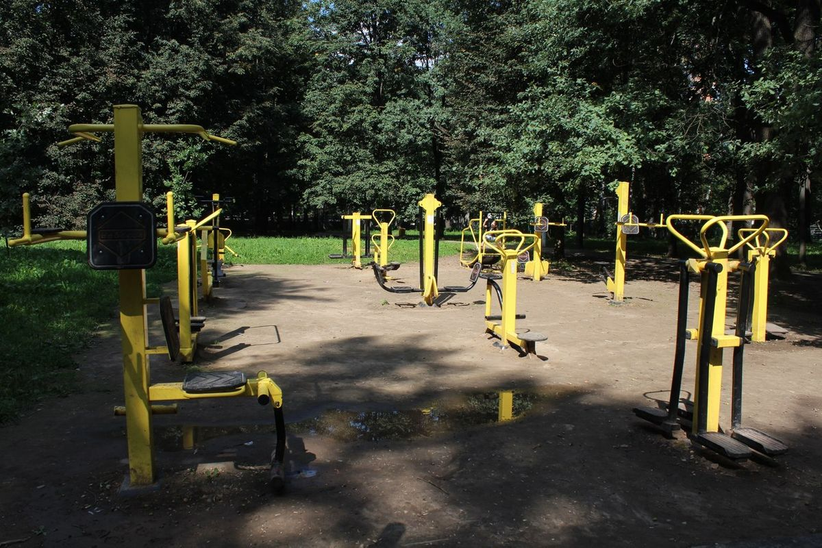 Khimki - Street Workout Park - Переулок Енотов
