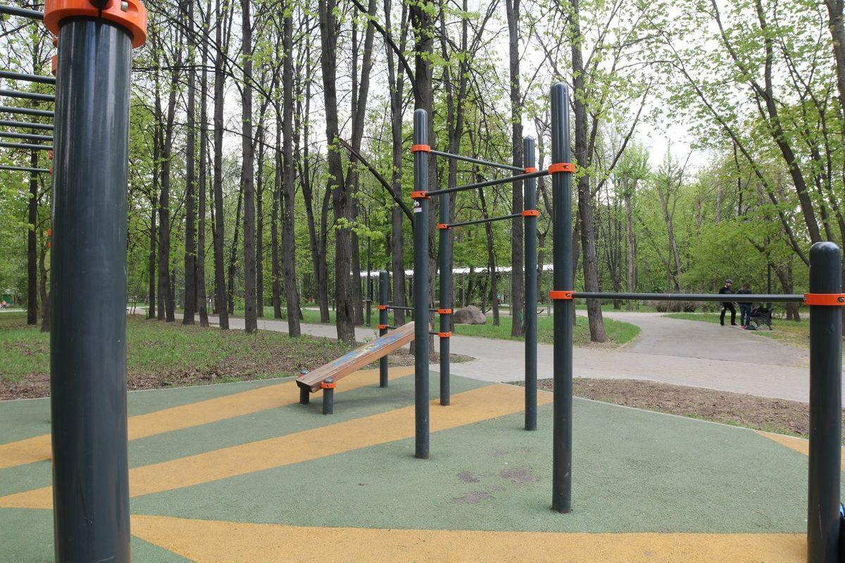 Moscow - Street Workout Park - 4-Й Новоподмосковный Переулок