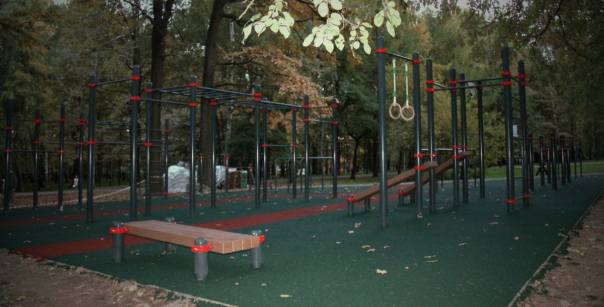 Moscow - Street Workout Park - Керамический Проезд