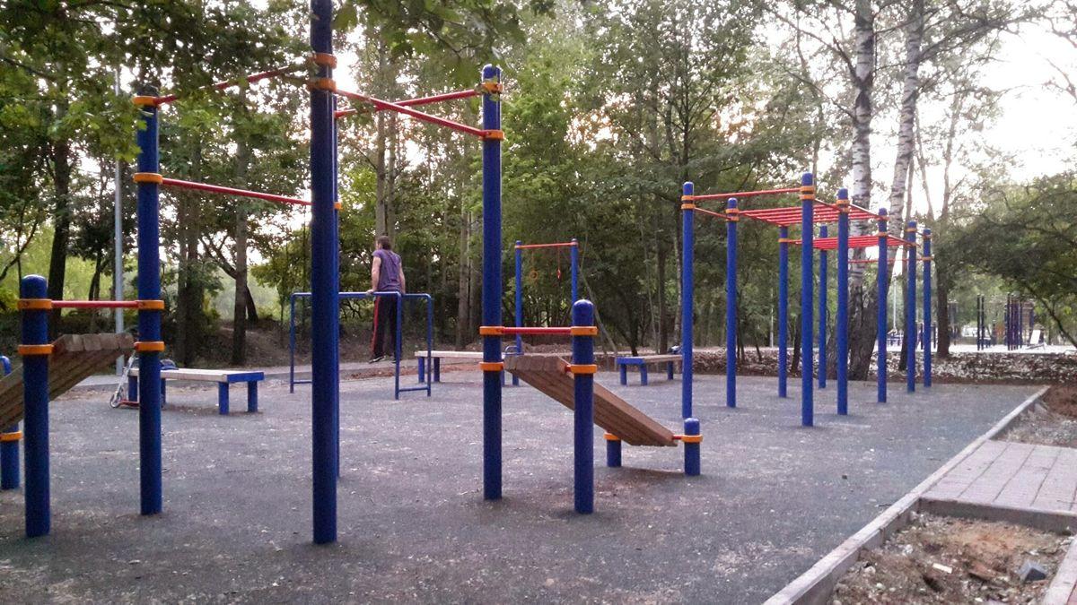 Dolgoprudny - Fitness Park - Парк Долгопрудный