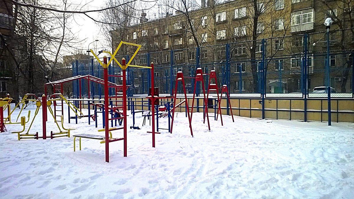 Moscow - Calisthenics Gym - Улица Черняховского