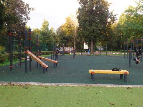 Moscow - Street Workout Park - Волейбол Измайловский Парк
