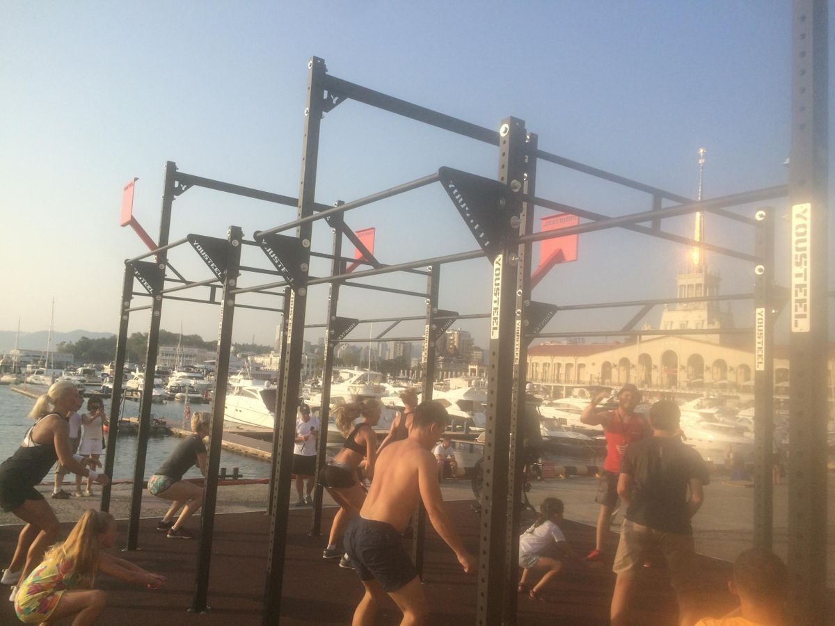 Krasnodar Krai - Street Workout Park - Парусник  Крузенштерн