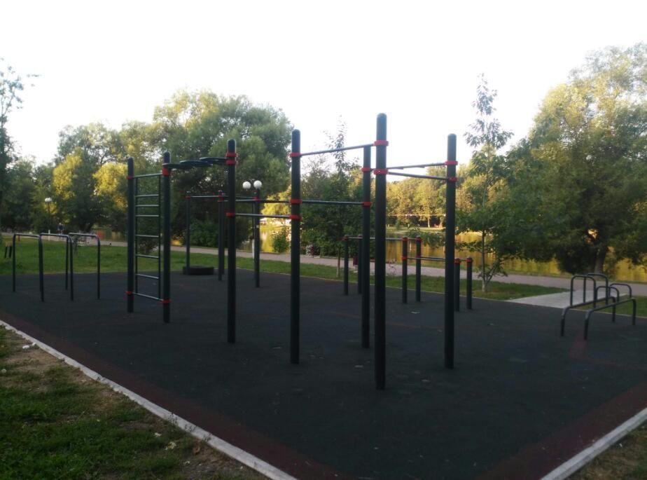 Lyubertsy - Street Workout Park - Улица Шевлякова
