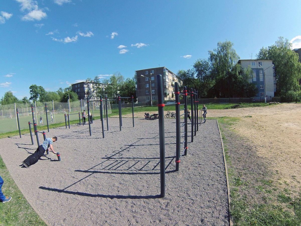 Yegoryevsk - Street Workout Park - Мкр 1-Й