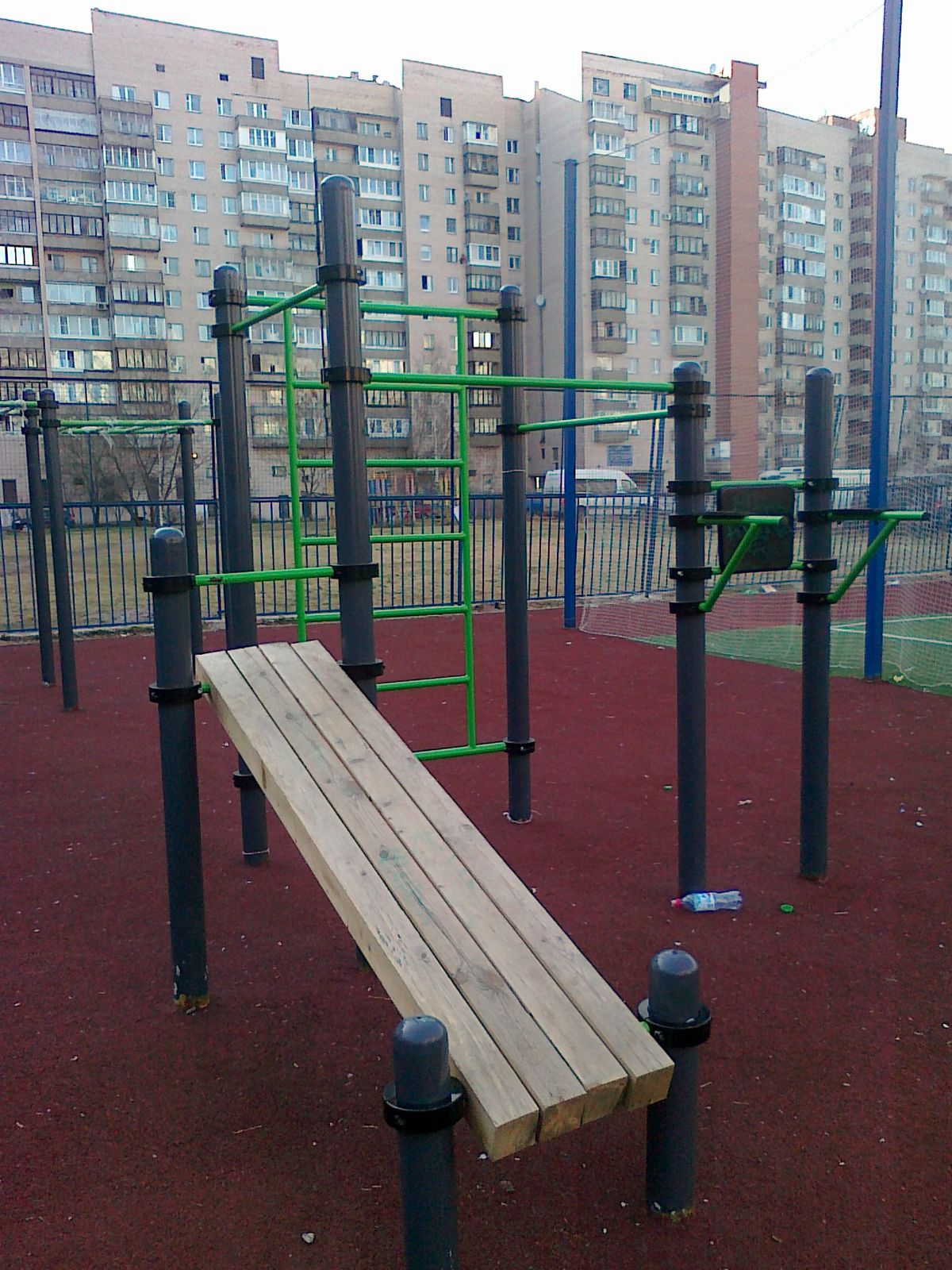 Saint Petersburg - Calisthenics Gym - Улица Кораблестроителей
