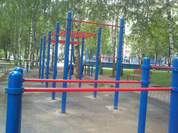 Balashikha - Outdoor Gym - Улица Твардовского