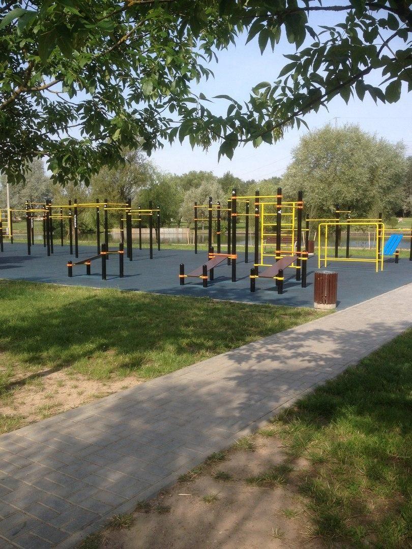 Minsk - Fitness Park - Улица Столетова