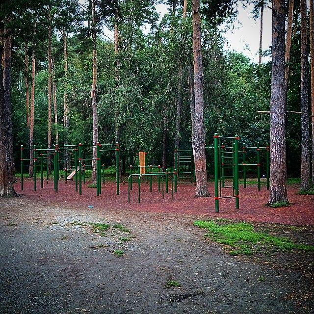 Yekaterinburg - Street Workout Park - Храм Александра Невского