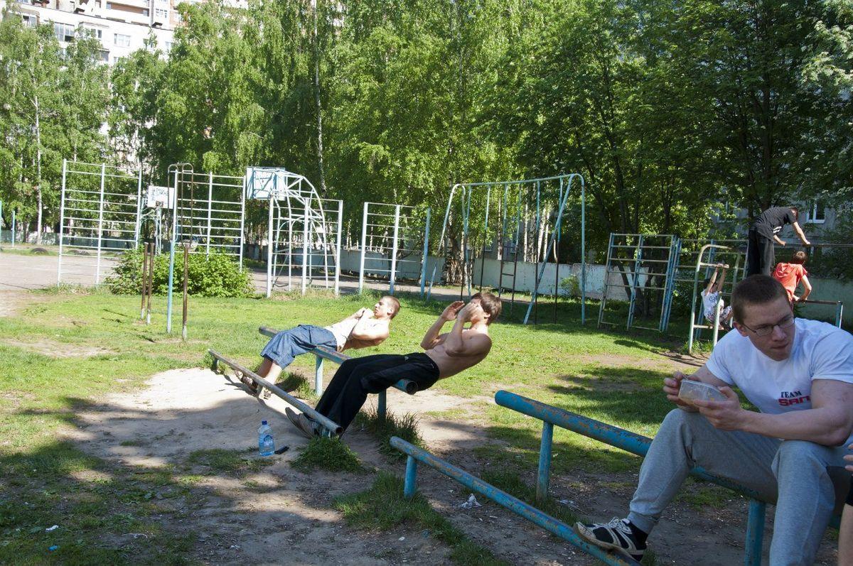 Balashikha - Street Workout Park - Улица Фадеева