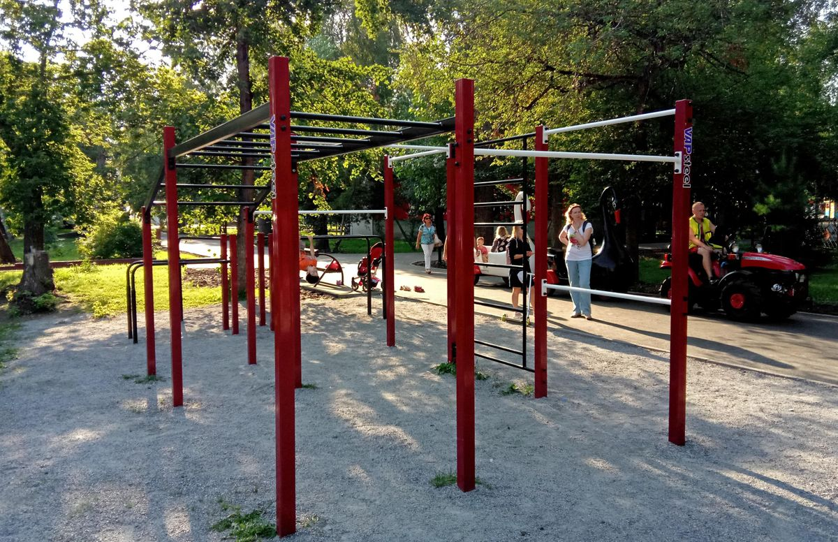 Novosibirsk - Outdoor Gym - Улица Ядринцевская