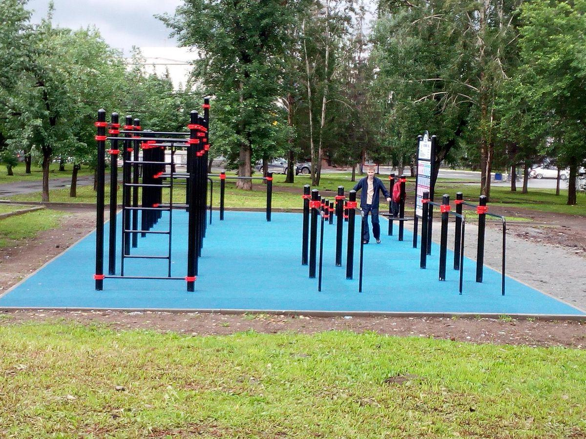 Yekaterinburg - Street Workout Park - ККТ Космос