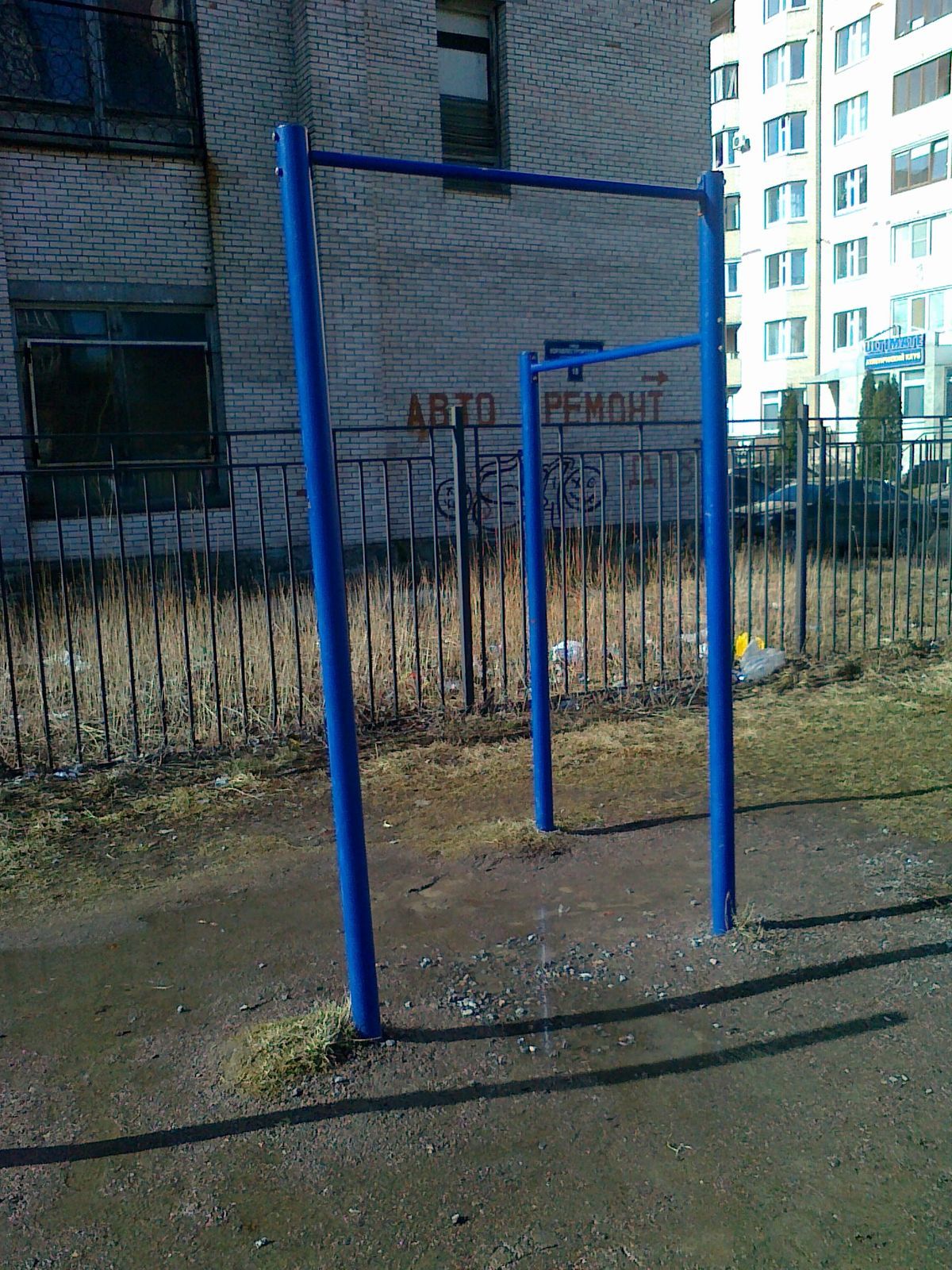 Saint Petersburg - Street Workout Park - Боцманская Улица
