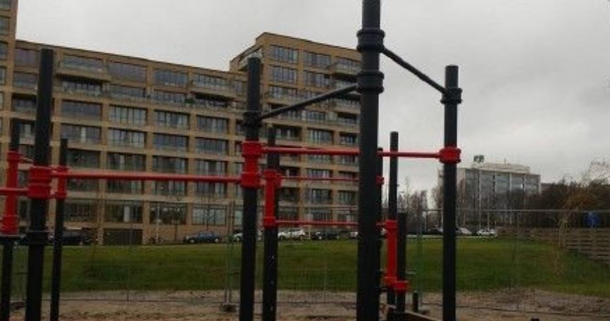 Amsterdam - Calisthenics Park - Rembrandt Park