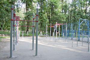 Kolomna - Street Workout Park - Парк Аттракционов