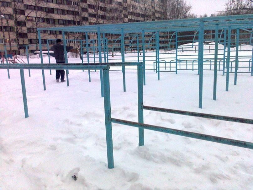 Saint Petersburg - Street Workout Park - Улица Ушинского