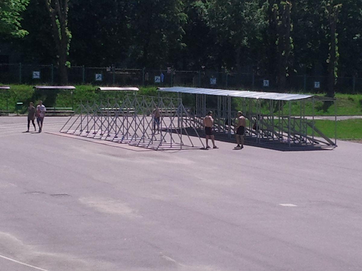 Minsk - Street Workout Park - Проспект Независимости